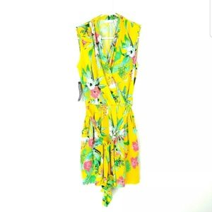 New York And Co $59 Wonens XS Romper Floral